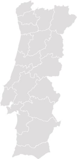 mapa de portugal em branco Localização Escolas Condução (Em atualização) mapa de portugal em branco